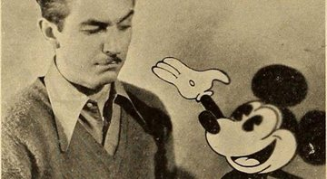 Walt Disney e o personagem de animação Mickey Mouse - Wikimedia Commons