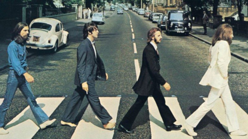 Capa do disco Abbey Road, da banda The Beatles