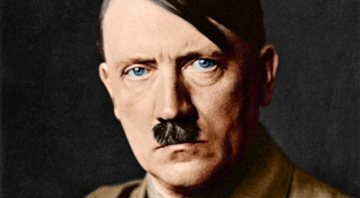Foto colorizada do ditador alemão Adolf Hitler - Wikimedia Commons