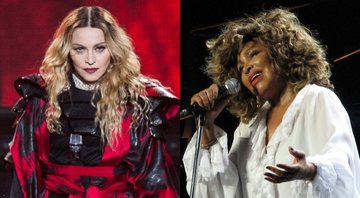 Madonna e Tina Turner, respectivamente - Creative Commons