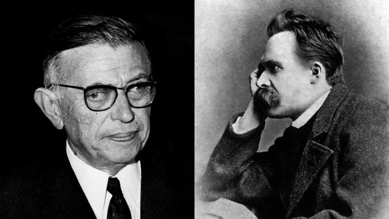 Sartre e Nietzsche, os precursores do existencialismo