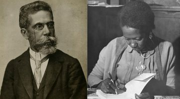 Machado de Assis a Carolina de Jesus, respectivamente - Creative Commons