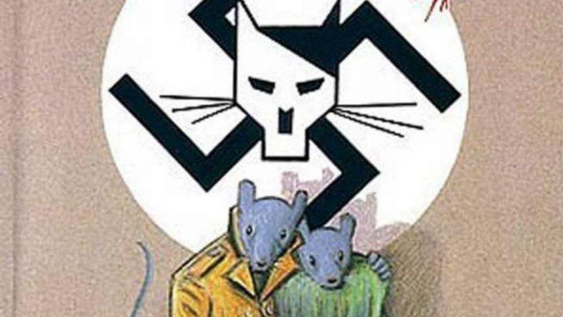 Capa original da obra Maus