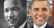 Martin Luther King e Obama, respectivamente - Creative Commons
