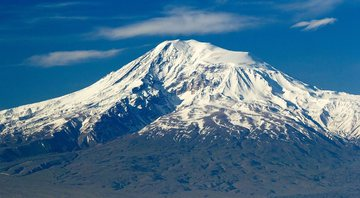 Vista aérea do Monte Ararat - Wikimedia Commons
