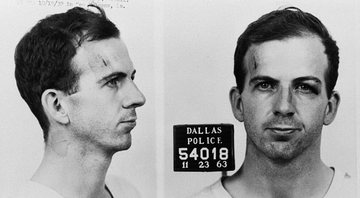 Lee Harvey Oswald, acusado de assassinar o presidente norte-americano Kennedy - Getty Images