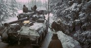 Tanque estadunidense na floresta das Ardenas - Getty Images