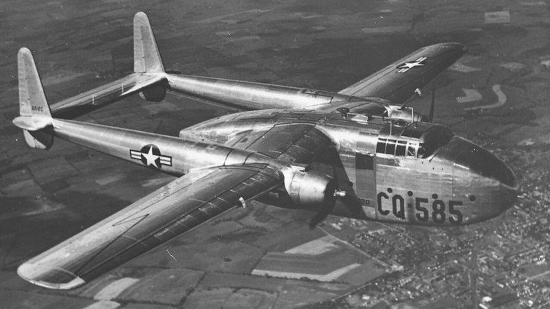Avião da década de 50 utilizado  pelo Correio Aéreo