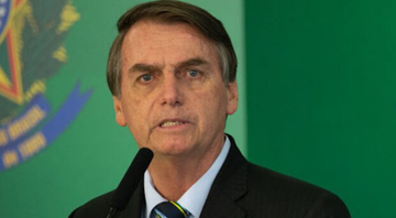 Bolsonaro no Palácio do Itamaraty - Getty Images