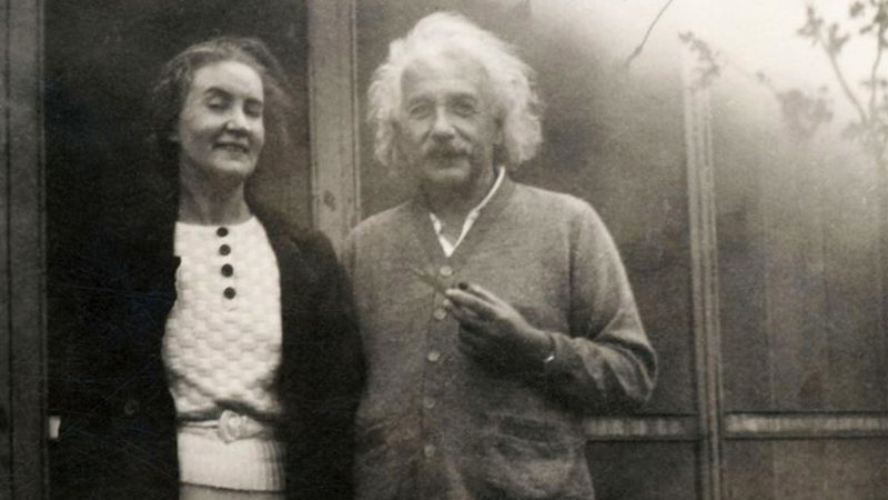 Albert Einstein e Margarita