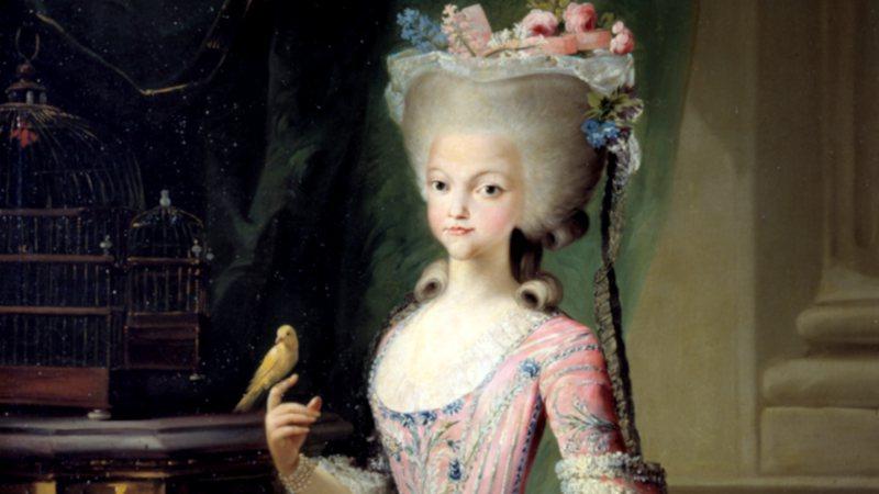 Carlota Joaquina quando era jovem