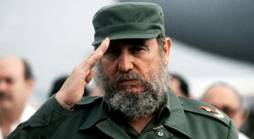 Fidel Castro, em 1988 - Getty Images
