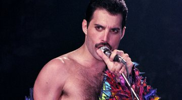Freddie Mercury, vocalista da banda britânica Queen - Getty Images