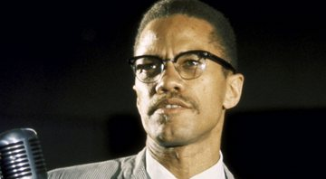 Retrato colorido de Malcolm X - Getty Images