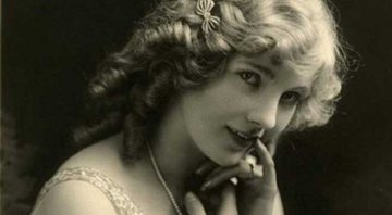 A atriz Mary Miles Minter no auge da carreira - Wikimedia Commons