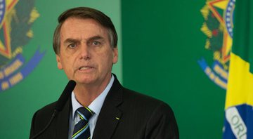 Presidente do Brasil, Jair Bolsonaro - Getty Images