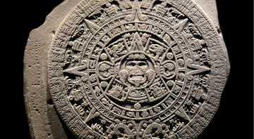 Calendário Asteca no Museu Nacional de Antropologia do México - Getty Images