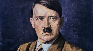 "Pintura do livro ""Adolf Hitler - Fotos da vida do líder"" - Getty Images"