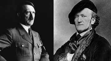 Adolf Hitler e o compositor Richard Wagner - Getty Images