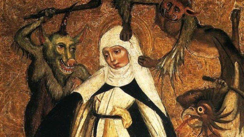 Santa Catarina luta contra demônios