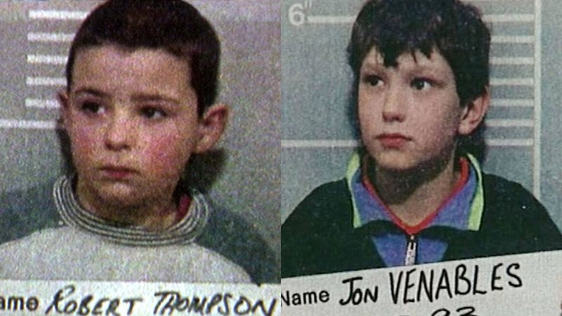 Robert Thompson e Jon Venables condenados pela morte de James Bulger