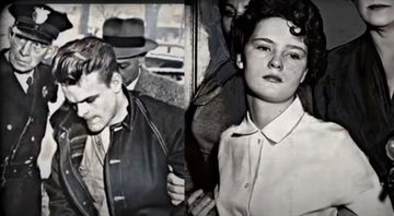 Charles Starkweather e Caril Ann Fugate, respectivamente - Divulgação / Youtube / Freak TV