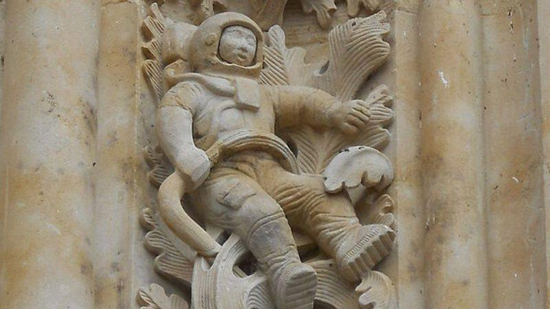 Astronauta da Catedral de Salamanca