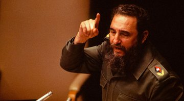O líder cubano Fidel Castro - Getty Images