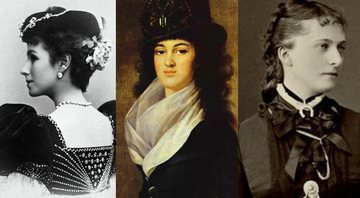 As mulheres: Mathilde Kschessinska, Anna Lopukhina e Catarina Dolgorukov - Wikimedia Commons