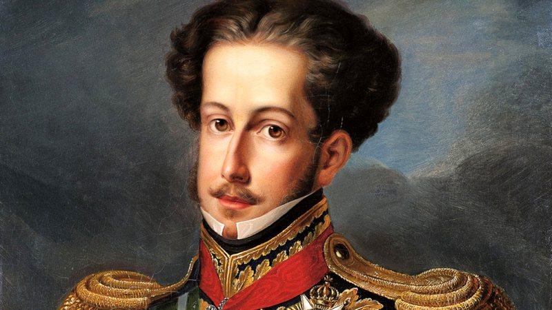 Pintura oficial do imperador