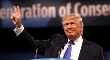Donald Trump, presidente dos EUA - Wikimedia Commons