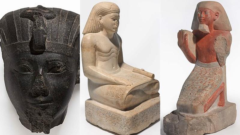 Estátuas do antigo Egito