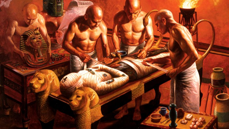 A mumificação assegurava a volta do espírito ao corpo após a morte