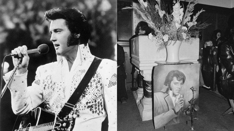 O cantor morreu em 1977 graças a um infarto fulminante