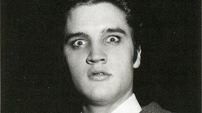 Элвис Пресли в первые дни своей карьеры
