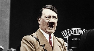 Adolf Hitler discursando em 1934 - Getty Images