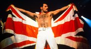 Freddie Mercury em show. - Getty Images