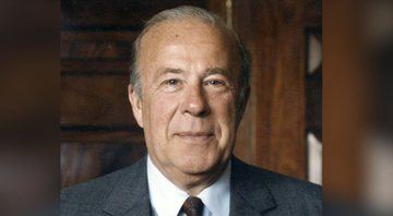 Retrato de George durante governo Reagan - Wikimedia Commons