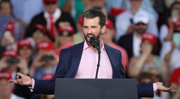 Fotografia de Donald Trump Jr - Getty Images