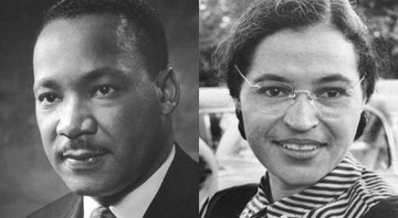 Martin Luther King Jr. e Rosa Parks - Wikimedia Commons