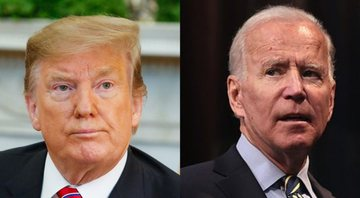 Donald Trump e Joe Biden, respectivamente - Wikimedia Commons/ Flickr