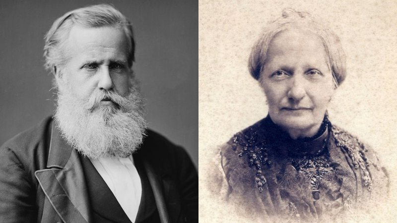 Pedro II e Teresa Cristina