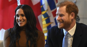 Fotografia de Meghan Markle e Harry - Getty Images