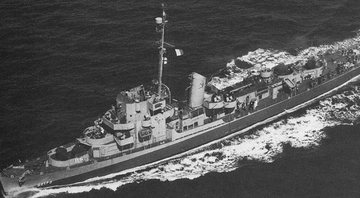 O navio USS Eldridge - Wikimedia Commons
