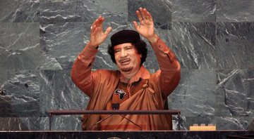 Mummar Gaddafi na ONU - Getty Images