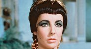 Elizabeth Taylor no papel principal do filme da Cleópatra, em 1963 - Getty Images
