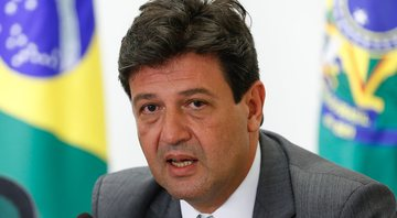 Foto do ex-Ministro Luiz Henrique Mandetta - Wikimedia Commons