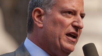 Bill de Blasio, em 2013 - Wikimedia Commons