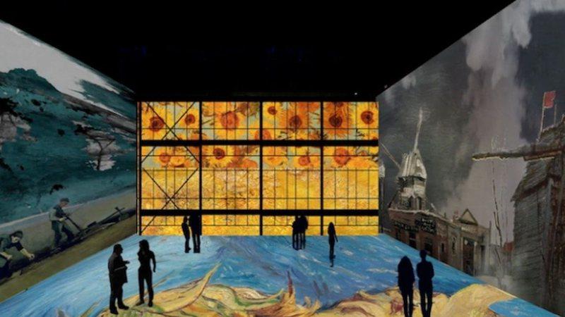 Exposição Immersive Van Gogh