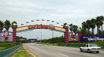 Entrada do Disney World - Getty Images